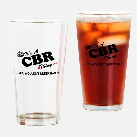 Cute Cbr Drinking Glass