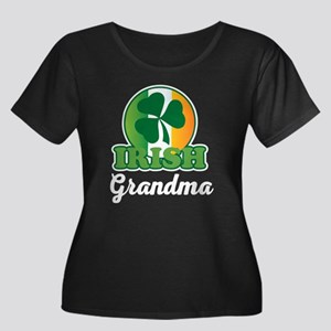 Irish Grandma Gift Plus Size T-Shirt
