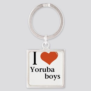 I love Yoruba boys Keychains