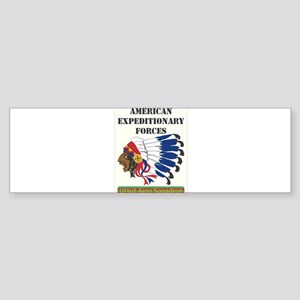 WW1 air squadron, American Expediti Bumper Sticker
