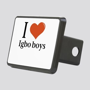 I love Igbo boys Rectangular Hitch Cover