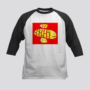 Red Hilo Bee 4Halley Baseball Jersey