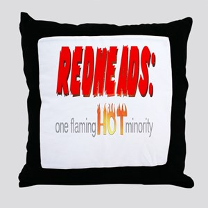 Redheads are hot! Throw Pillow