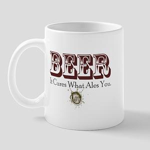 Beer, It Cures What Ales You Mug