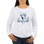 Shower with a Soldier Women's Long Sleeve T-Shirt