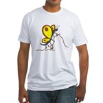 Alpine Butterfly Fitted T-Shirt