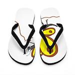 Alpine Butterfly Flip Flops