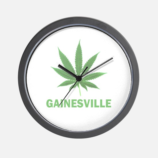 Gainesville, Florida Wall Clock