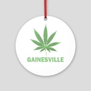 Gainesville, Florida Ornament (Round)
