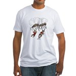 Mosquito Problem Fitted T-Shirt