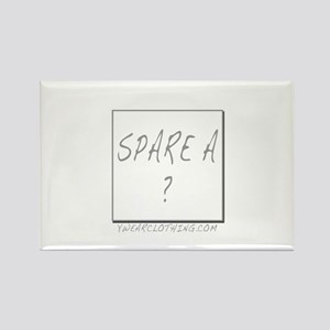 Spare a Square Rectangle Magnet