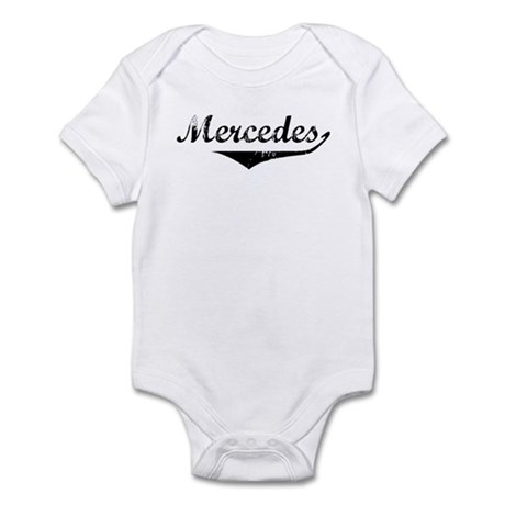 Mercedes Vintage (Black) Infant Bodysuit