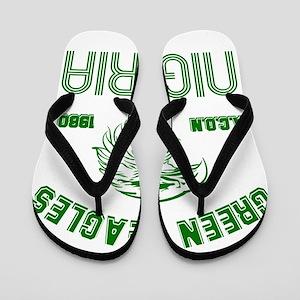 Green Eagles Nigeria Flip Flops