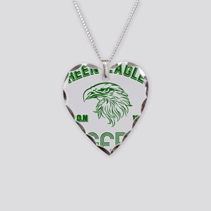 Green Eagles Nigeria Necklace Heart Charm