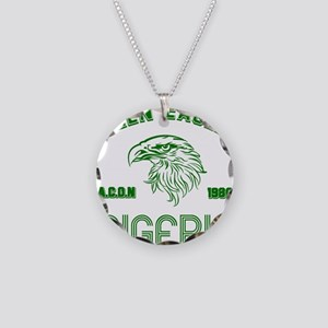 Green Eagles Nigeria Necklace Circle Charm