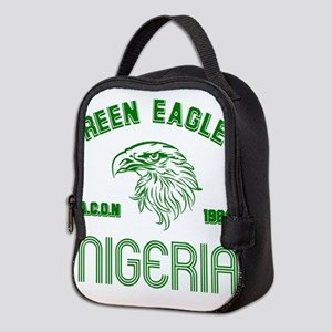 Green Eagles Nigeria Neoprene Lunch Bag