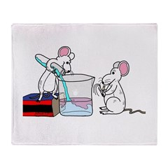 Lab Mice Throw Blanket