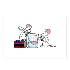 Lab Mice Postcards (Package of 8)