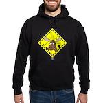 Moose Warning Hoodie (dark)