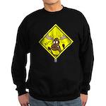 Moose Warning Sweatshirt (dark)
