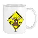 Moose Warning Mug
