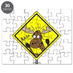 Moose Warning Puzzle