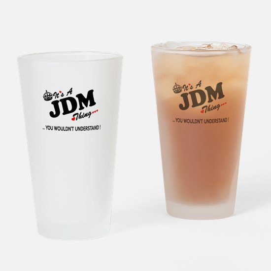 Funny Jdm Drinking Glass