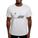 Armadillo Love Light T-Shirt