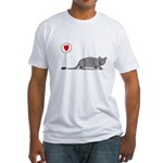 Armadillo Love Fitted T-Shirt