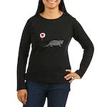 Armadillo Love Women's Long Sleeve Dark T-Shirt