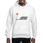 Armadillo Love Hooded Sweatshirt
