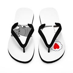 Armadillo Love Flip Flops