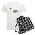 Armadillo Love Men's Light Pajamas
