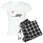 Armadillo Love Women's Light Pajamas