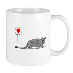 Armadillo Love Mug