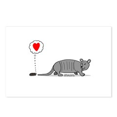 Armadillo Love Postcards (Package of 8)