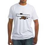Beavers Bad Day Fitted T-Shirt