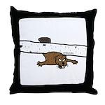 Beavers Bad Day Throw Pillow