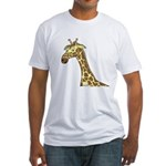Giraffe Fitted T-Shirt