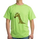 Giraffe Green T-Shirt