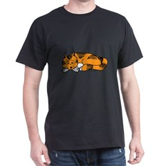 Cat Contemplation T-Shirt