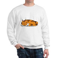 Cat Contemplation Sweatshirt