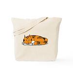 Cat Contemplation Tote Bag