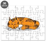 Cat Contemplation Puzzle