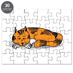 Cat Contemplation Puzzle