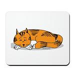 Cat Contemplation Mousepad