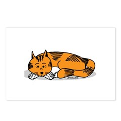 Cat Contemplation Postcards (Package of 8)