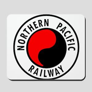 Northern Pacific Railway logo Mousepad
