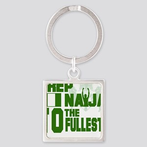I rep Naija to the fullest Keychains