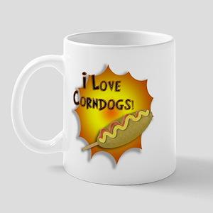 I Love Corndogs! Mug